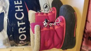 Girls Sorel Boots - size 3