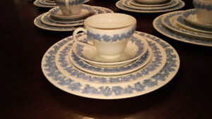 SALE!! Today, 8 place settings Wedgwood Queensware