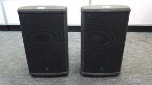 2 YORKVILLE NX55P POWERED LOUDSPEAKERS - 550 WATTS