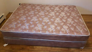 Bed and mattress sale