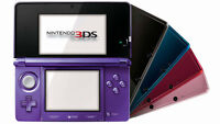 3ds or 3ds xl or 2ds