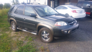 Acura mdx awd 7 passager cuir toit ouvrant