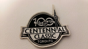 Toronto Maple Leafs 100th Centennial Classic jersey patch