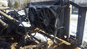 2003-2007 GMC/Chevrolet 1500 Rad with factory electric fans