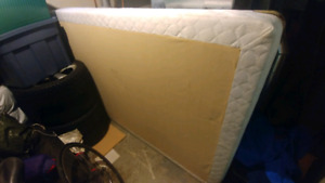 Like new Boxspring (Double)