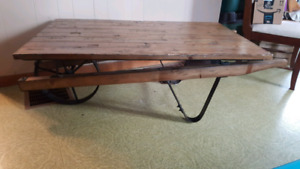 *Reduced* Large  one of a kind coffee table