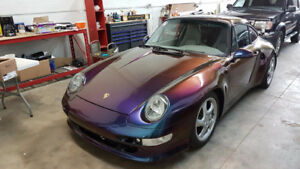 gorgeous 911 with wide body