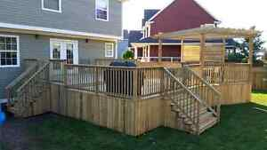 Colby Construction - Decks, Fences & more..