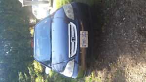 2002 Honda Civic Coupe (2 door) great on gas!