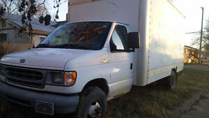 (SOLD) 2002 Ford E-Series Van white cube van Other