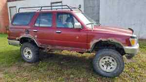 Toyota 4Runner 4x4 Locked front Diff, Lifted