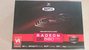 AMD XFX Rx 580 4gb.  BRAND NEW SEALED. Graphics card
