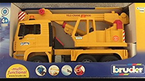 Bruder Tele-Crane TC 4500 construction truck - brand new in box