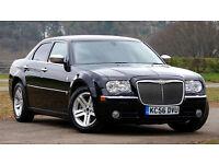 2007 Chrysler 300C 3.0 CRD V6 BENTLY GRILL SAT NAV 1 OWNER HPI CLEAR SUN ROOF