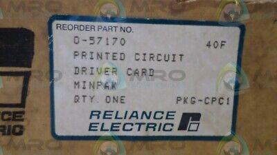 Reliance Electric 0-57170 Circuit Driver Card Minipak New In Box