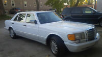 mercedes 420 sel collectors condition  1991