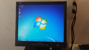 """Used 17"""" Philips LCD Computer Monitor for Sale"""