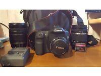 CANON Camera + Items