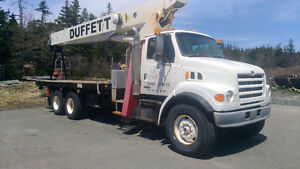 Terex Boom Truck for sale