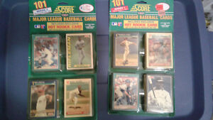 BASEBALL CARDS  - SPECIAL COLLECTORS PACKAGES - SCORE 1991