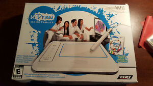 uDraw Game Tablet in box with 2 games