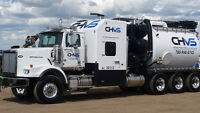 Experienced Hydro vac operators required