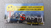 Transport & déménagement de spa