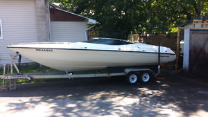 22' sunray sport offshore / 350 / trailer