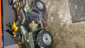 Honda 250 fourtrax need room in garage as is jump on and go