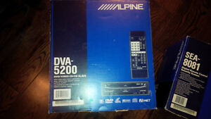 Alpine Ai-NET DVD, SCREEN, ALARM/PAGER and CHANGER Kitchener / Waterloo Kitchener Area image 2