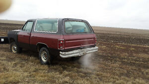 1985 Dodge ramcharger Regina Regina Area image 2
