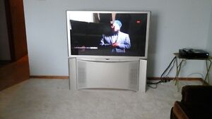 Hitachi 55 inch projection TV. Works great.