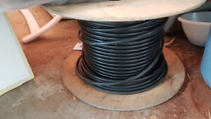 Aerial coax cable
