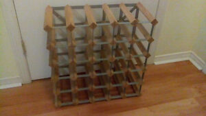 25 bottle wine rack/shelf