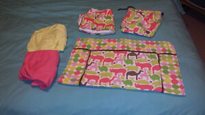 EUC CRIB SET -- WHO WANTS A BORING NURSERY??