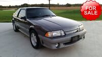 1991 Ford Mustang GT Cobra 41000KM 360HP Original One Owner