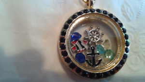 Locket with floating charms  $15