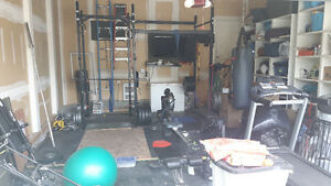 Garage Gym For Sale - price negotiable for quick sale