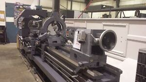 """NEW-HOLLOW SPINDLE LATHE - 9"""" BORE HD. - FREE ALBERTA SHIPPING"""