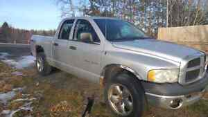 2002 dodge ram parts only