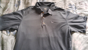 Nike dry fit golf shirt