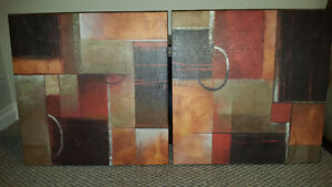 Set of two Pictures - Art Cambridge Kitchener Area image 1