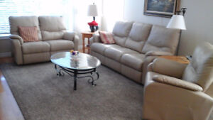 LEATHER RECLINER FURNITURE  $ 3,500.00