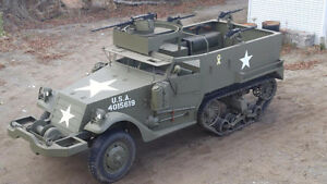 1943 WW2 M2A1 Halftrack - WW2 armour