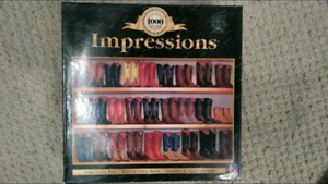 1000 pcs Cowboy boots jigsaw puzzle *never opened*