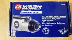 CAMPBELL HAUSFELD AIR POWERED BUTTERFLY IMPACT WRENCH-NEW IN BOX