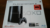 PlayStation3 With 4 Games