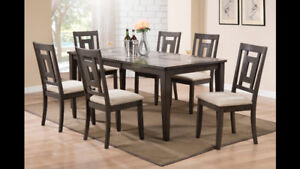 Tile Top Table + 4 Chairs