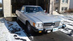 Classic Mercedes 380SL