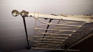 antique cast iron and brass dbl.bed St. John's Newfoundland image 4